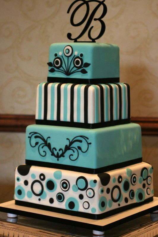 Tiffany Blue Cake Design : Tiffany Wedding Cakes - Tiffany Cake